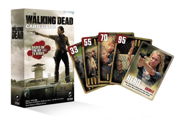 Juego de cartas de la serie Walking Dead