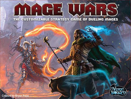 Portada de Mage wars