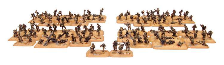 Nuevas miniaturas para el desembarco de normandía