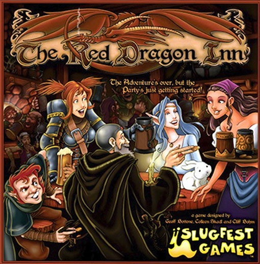 Portada de the red dragon inn