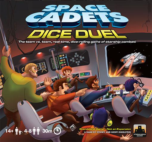 Caratula de Space Cadets Dice Duel