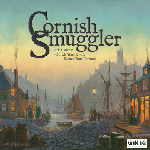 Portada de Cornish Smuggler