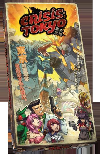 Portada de Crisis Tokyo