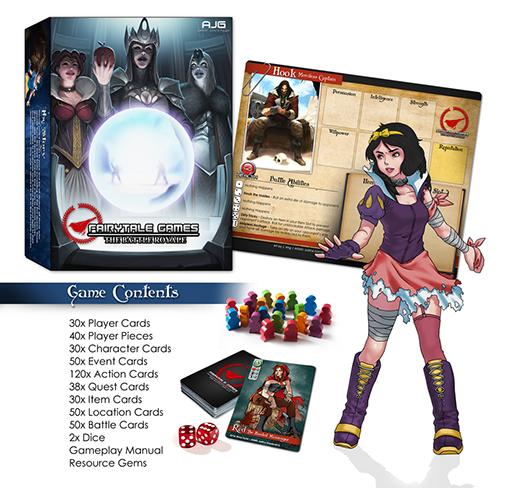 Componentes de Fairytale Games