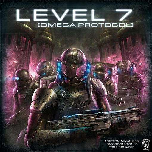 Portada de Level 7 omega Protocol