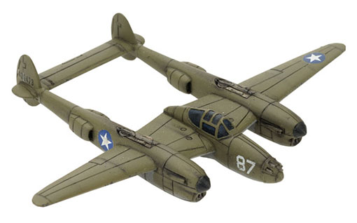 El caza P-38 Lightning