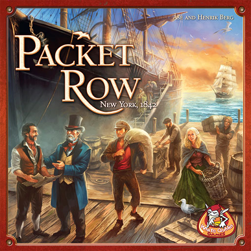 Portada de Packet ROw