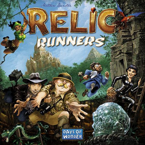 Portada de Relic Runners