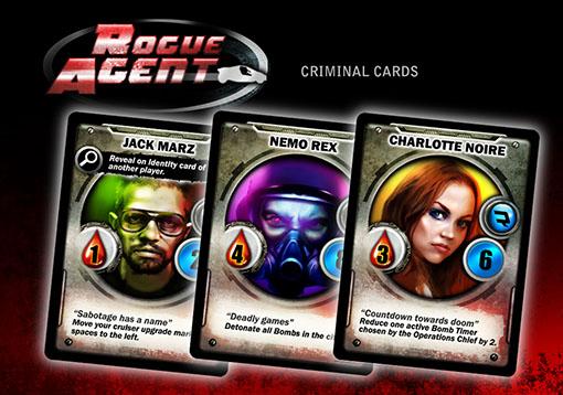 cartas de Rogue Agent