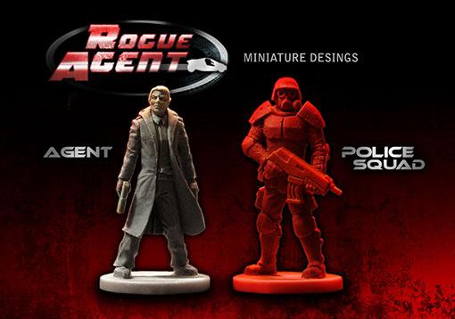 Miniaturas de Rogue agent
