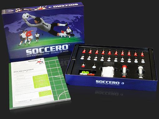 Caja y componentes de soccero