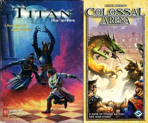 Portada de Colossal Arena y Titan The Arena