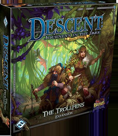 Caja de la expansión para Descent trollfens