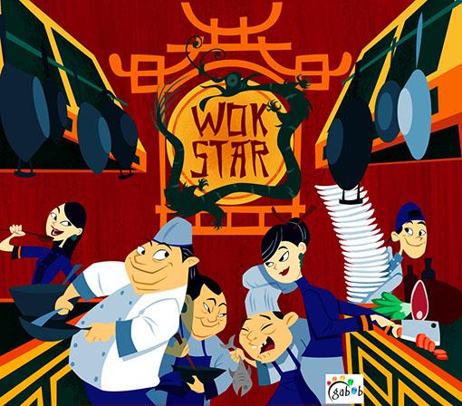 Portada de Wok Star