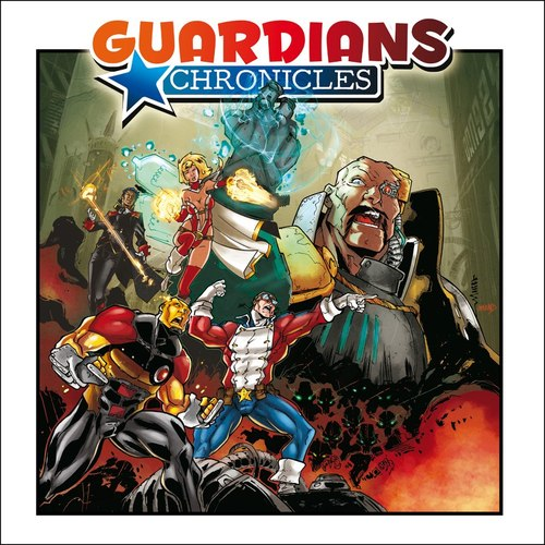 Portada de Guardian Chronicles