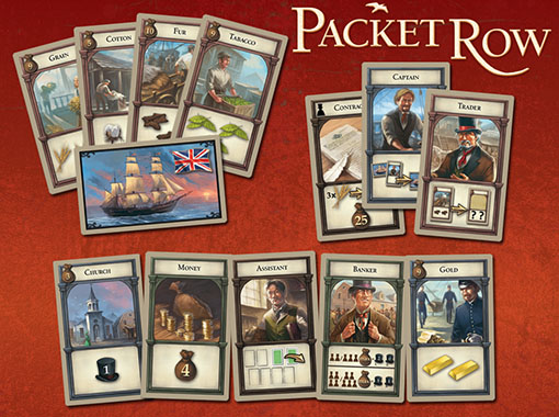 Cartas de Packet Row
