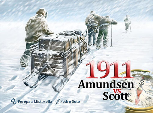 1911 Admusen vs Scott, comienza la carrera