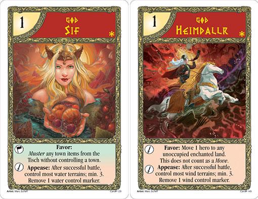 Cartas de Asgard Chosen