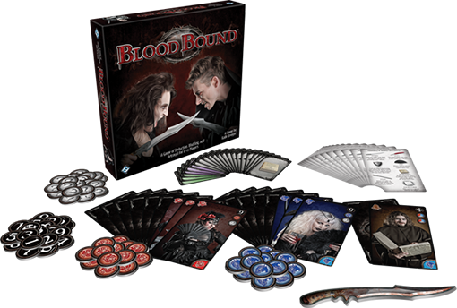 Componentes de Blood Bound