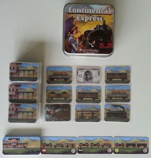 Colocación inicial de continental express