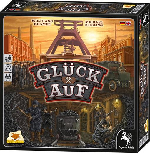 Caja del prototipo de Gluck Auf