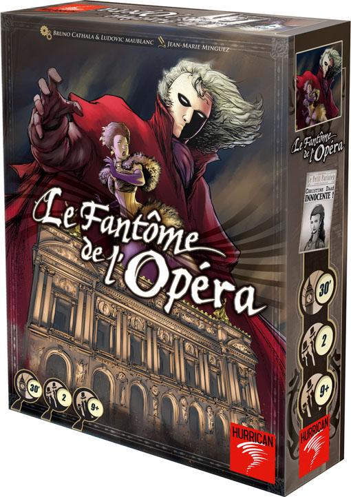 caja de El Fantasma de la Opera