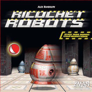 Cubierta de Ricochet Robots
