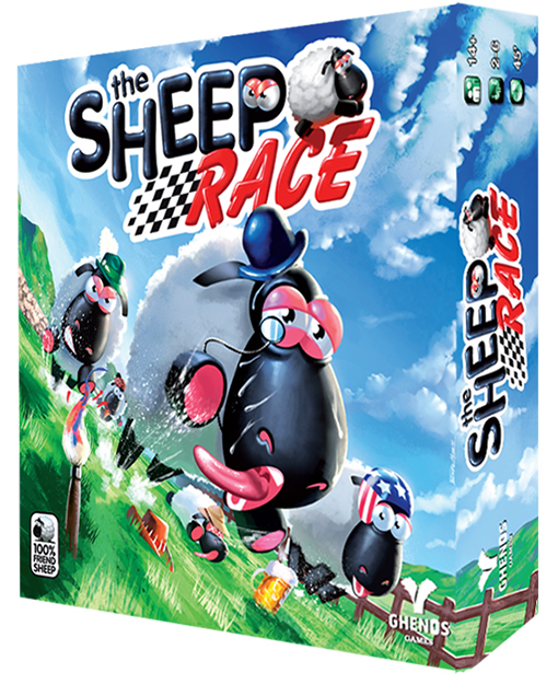 Caja de Sheep race