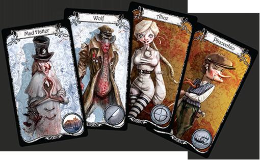 Personajes de Winter Tales