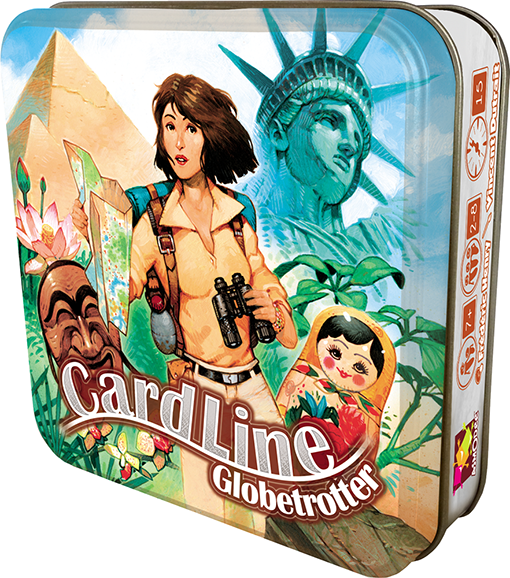 Caja de Cardline Globetrotter