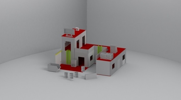 Casa modular de Battlescenary