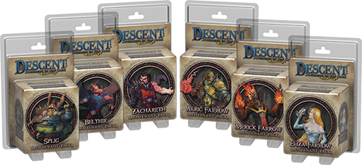 Descent Lieutenat pack