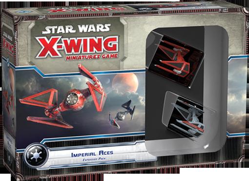 Caja de la expansión de X-Wing Empire Aces