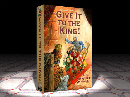 Portada de Give it to the king