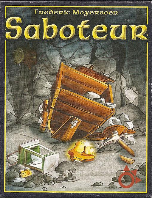 Portada de Saboteur