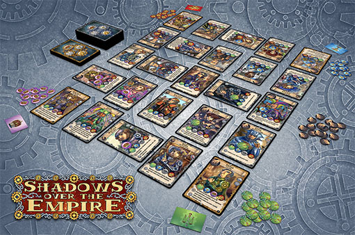Shadows over the empire, juego desplegado