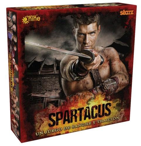 Caja de Spartacus Sangre y Traición