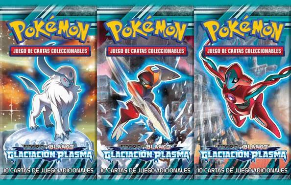 Juego Pokemon Negro y Blanco Glaciación Plasma