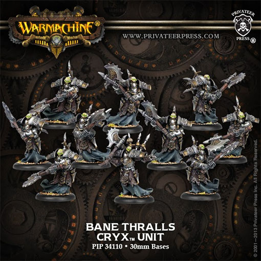 Bane Thralls de Warmachine