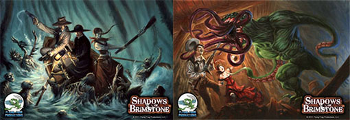 Ilustraciones de Shadows of Brimstone