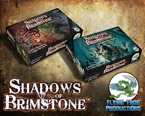 Cajas de Shadows of Brimstone