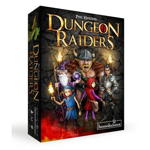 Portada de Dungeon Raiders de Homoludicus