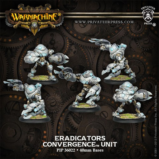 Eradicators de Warmachine