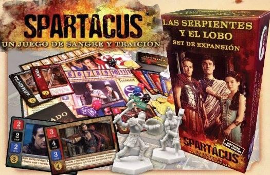 Expansión La serpiente y el Lobo de Saprtacus