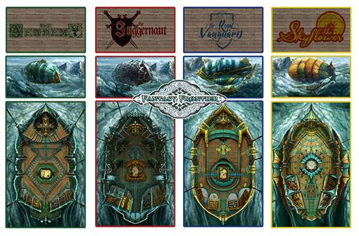 naves de fantasy frontier