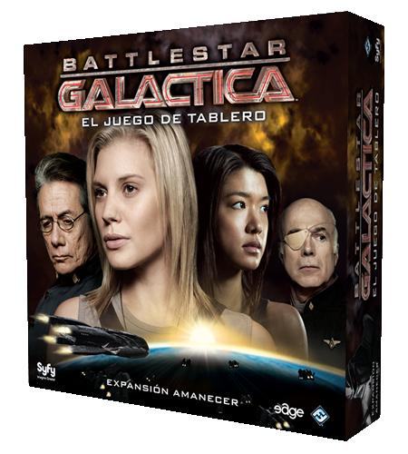 Caja de la expansión Battlestar Galactica Amanecer