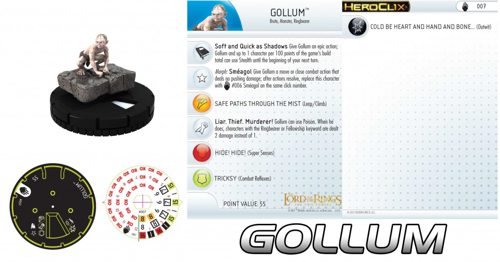 Gollum Heroclix