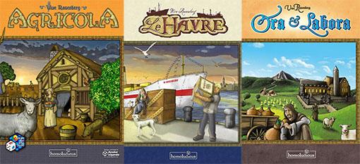 Juegos de Lookout games distribuidos por Homoludicus