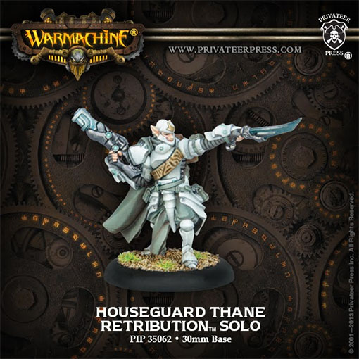 Houseguard Thane de Warmachine