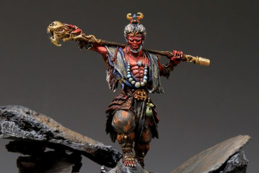 Miniatura de Sun Wukong de Journey: Wrath of Demons